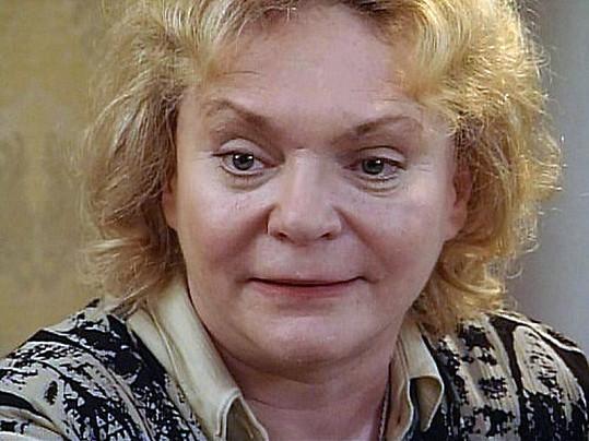 Klára Jerneková ve své poslední roli. Zbývaly jí čtyři roky života.