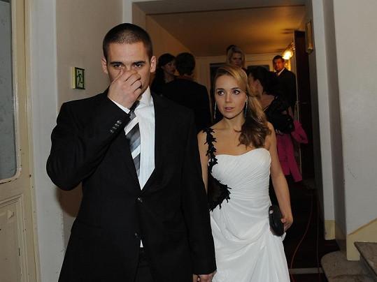 Lucie s manželem Tomášem Plekancem