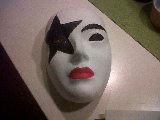 Tuto masku vytvořil Jaro Slávik.