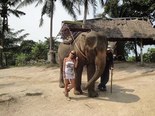 Michaela Ochotská strávila v Thajsku skoro dva týdny.