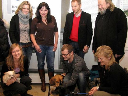 Dagmar Patrasová byla členkou poroty o nejhezčího psa Prahy 10.