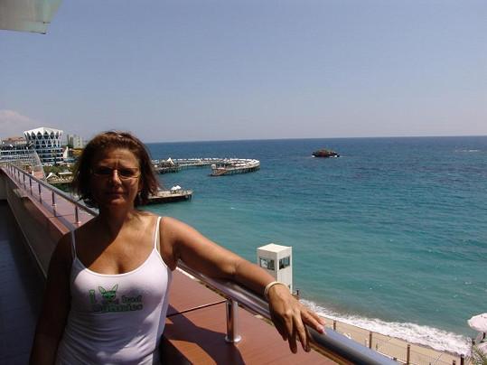 Ivana Andrlová v Turecku