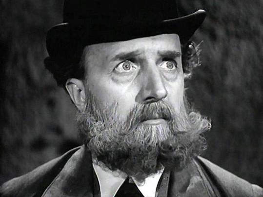František Smolík ve filmu Městečko na dlani (1942)
