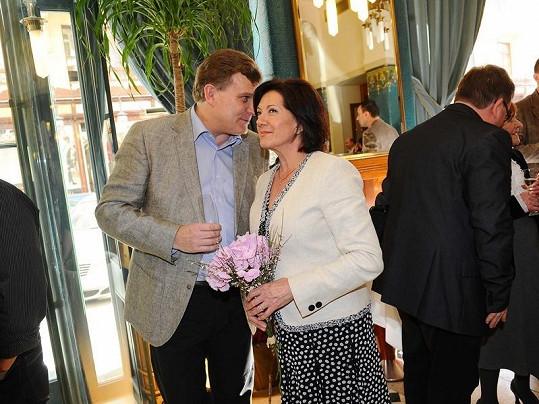 Marie Rottrová žije už tři roky s Milanem Říhou