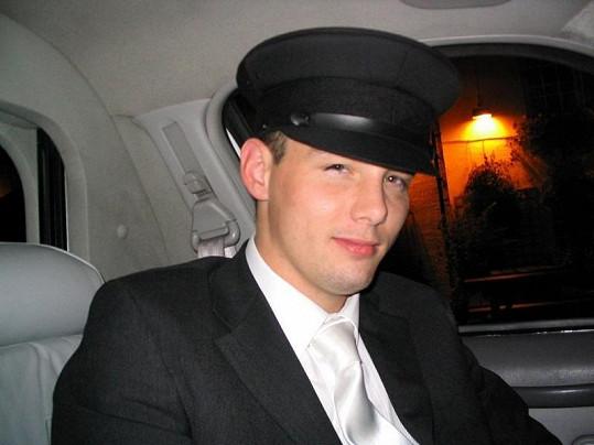 Chris Edkins v době, kdy podnikal s limuzínami.