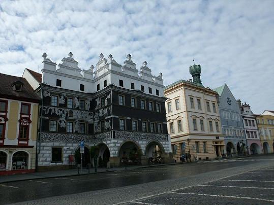 Hotel Salva Guarda na náměstí v Litoměřicích patří rodičům ženy Josefa Abrháma mladšího.