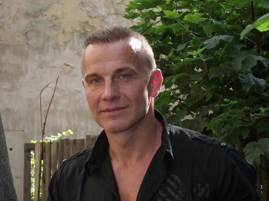 Martin Maxa v padesáti.