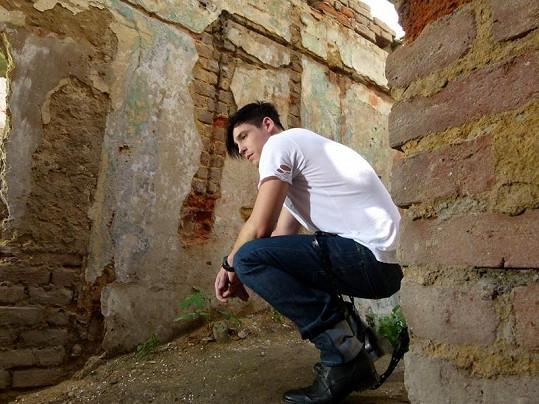 Daniel natočil klip ke své nové písni Poslední náboj.