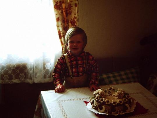 Dianka slaví druhé narozeniny.