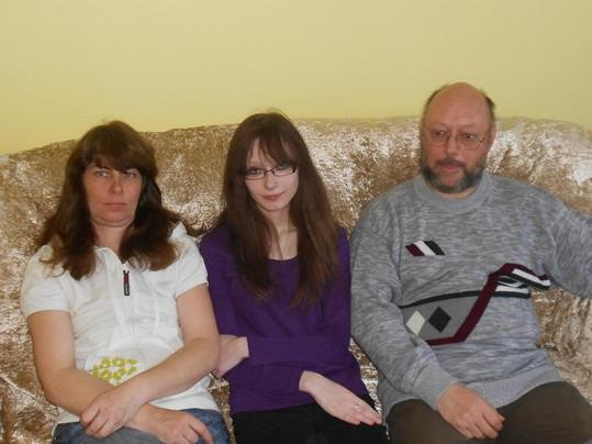 Renáta Hažmuková s rodinou.