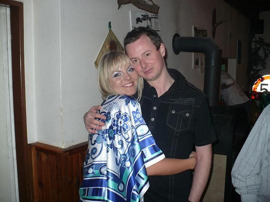 Petra s bývalým přítelem Petrem