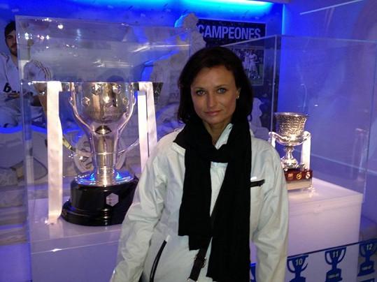 Fotku s trofejemi si Jana nemohla odpustit.