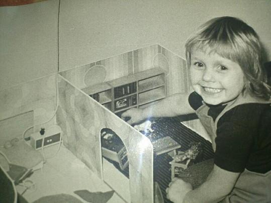 Už jako malá holčička byla velmi talentovaná.