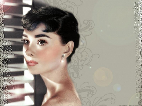 1. Audrey Hepburn