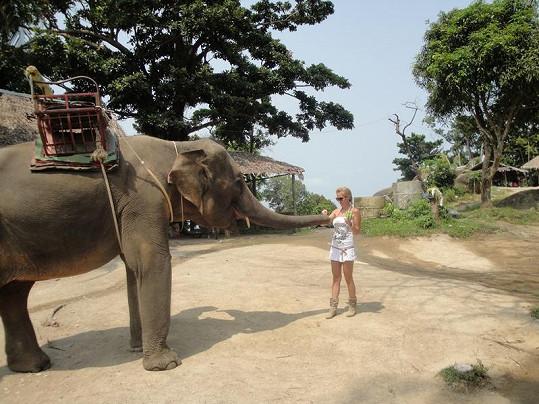 Michaela Ochotská a její největší thajský zážitek.