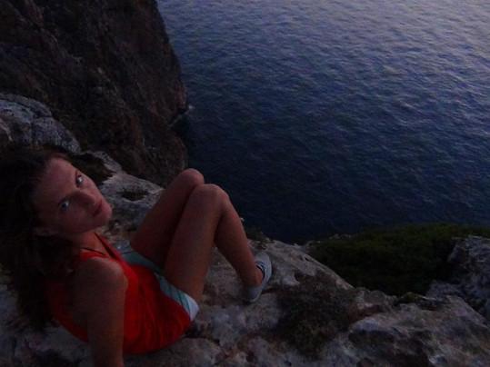 Přítelkyni Anežce Lukáš ukázal krásy Chorvatska.