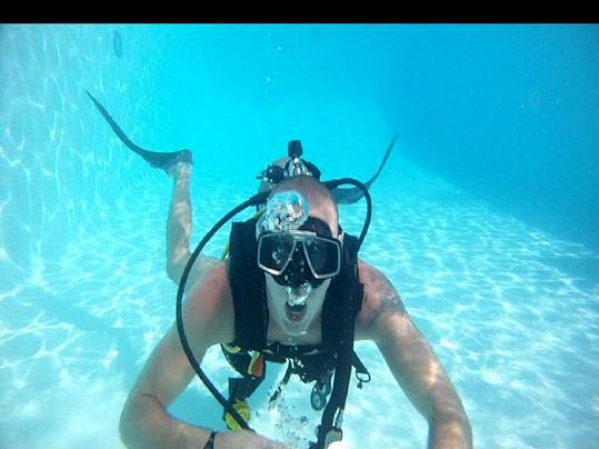 Vlado se šest let živil jako instruktor potápění v Hurghádě.