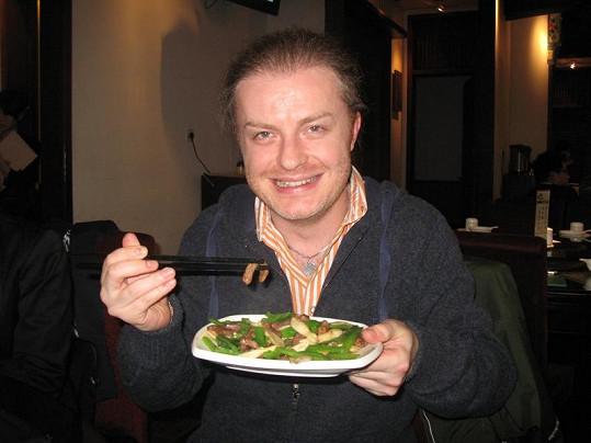 Pavel Šporcl ochutnával v Číně různou havěť.