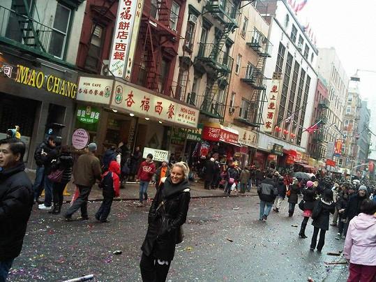 Simona v Čínské čtvrti