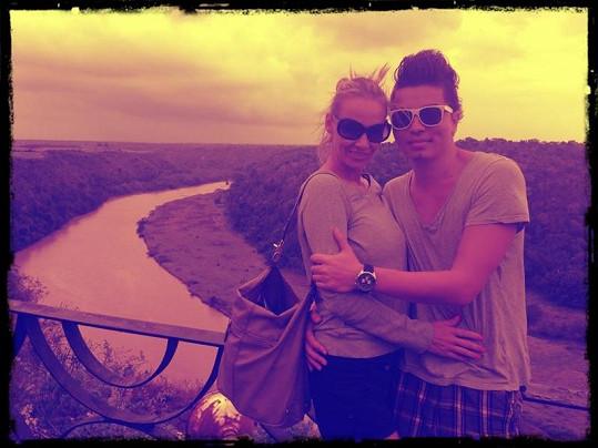 Martina a Marcus v Dominikánské republice.