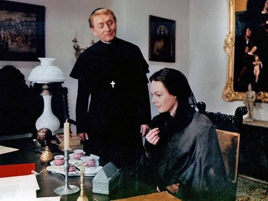 Jana Hlaváčová jako Božena Němcová ve filmu Otakara Vávry Veronika (1985).