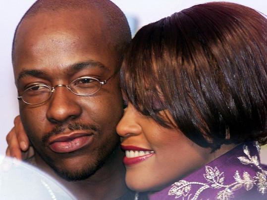 Bobby Brown a Whitney Houston v roce 1999.