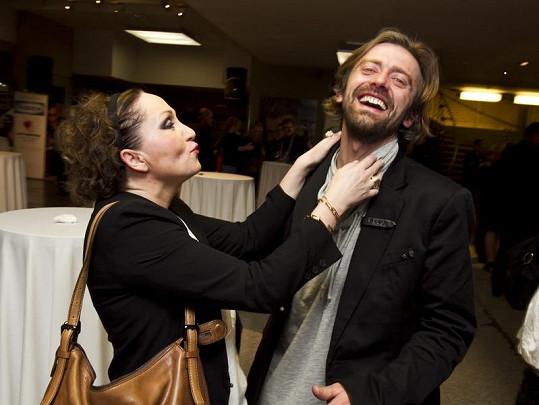 Bára Basiková s manželem mají spokojené manželství.