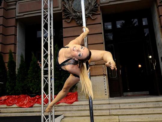 Tanečnice u tyče ještě na festivalovém programu nebyla.