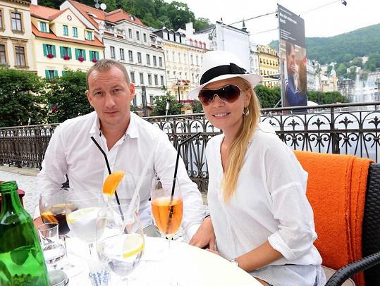 Michaela Ochotská a Michal Exner jsou spolu rok.