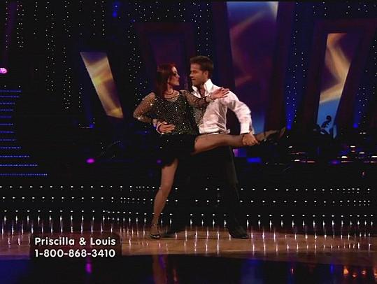 Presley v taneční soutěži Dancing With The Stars.