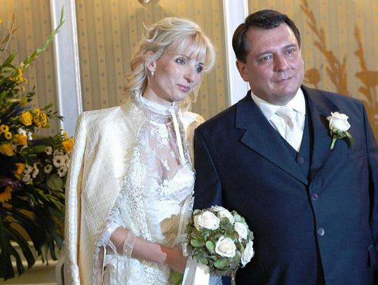 Svatební foto z roku 2007
