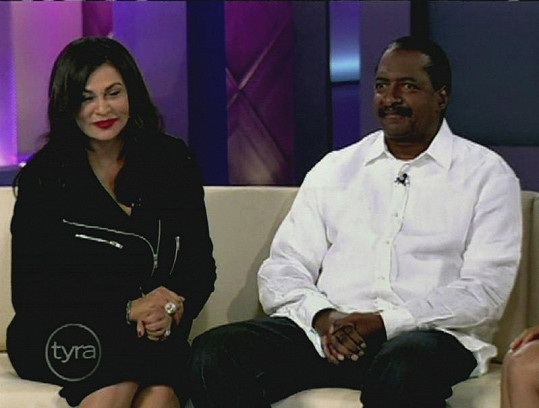 Tina a Mathew Knowles.