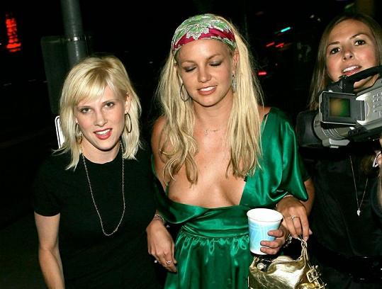 Britney Spears před třemi lety při návratu z party v Hollywoodu.