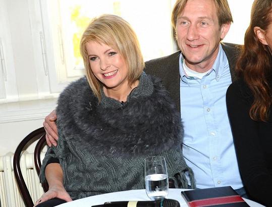 Duchoslav s Ivetou Bartošovou
