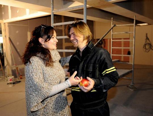 Čvančarová přišla podpořit manžela.