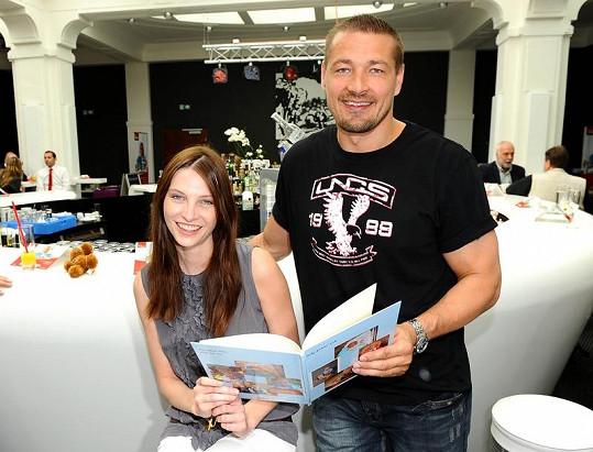 Petr Jákl s Ivou Frühlingovou.