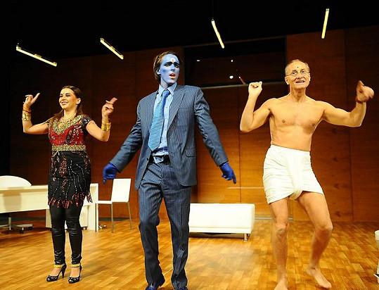 Dana s Josefem Cardou a Karlem Heřmánkem mladším.