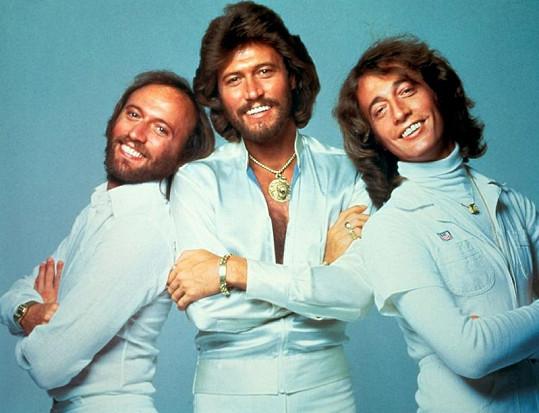 Bee Gees na vrcholu slávy: Maurice, Barry a Robin (zleva).