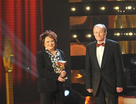 Radoslav Brzobohatý a Jiřina Bohdalová jsou oba ve Dvoraně slávy.
