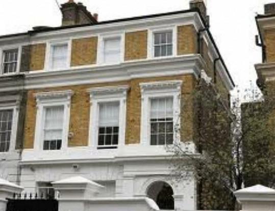 Dům, ve kterém Amy zemřela.