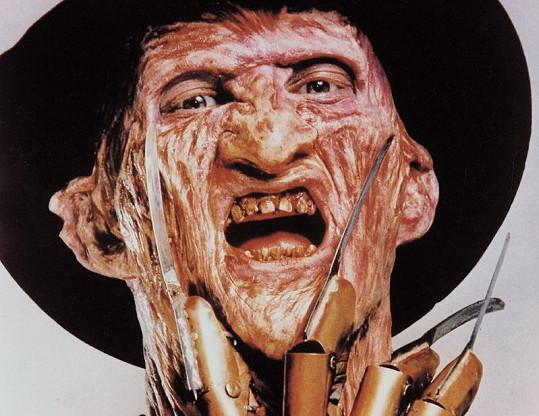 Hrůzu nahánějící zabiják Freddy Krueger.