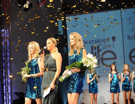 Loňské vítězky se Simonou Krainovou.