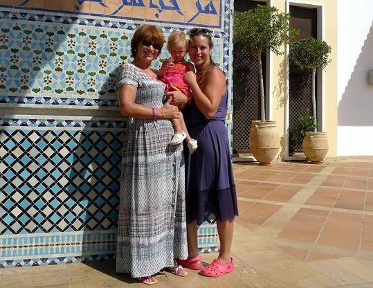 Ženská trojka si našla čas i na procházky a výlety.