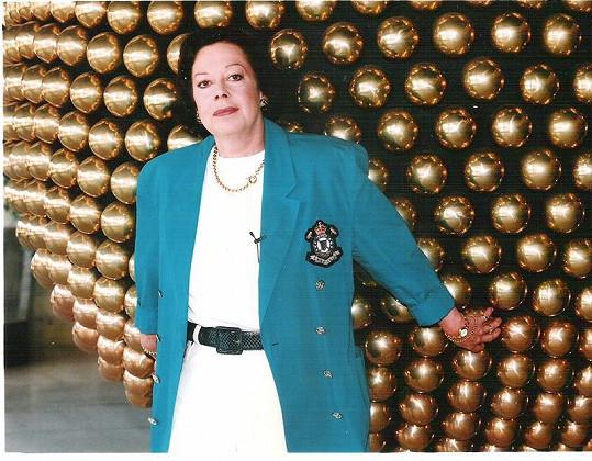Yvonne Přenosilová.