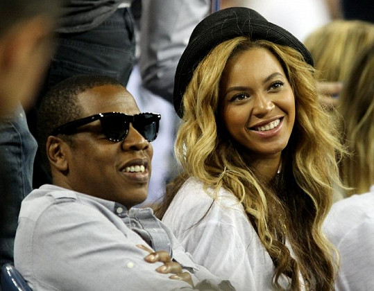 Beyoncé a Jay-Z.