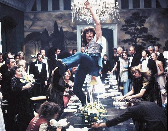 Treat Williams při své nejslavnější taneční scéně.