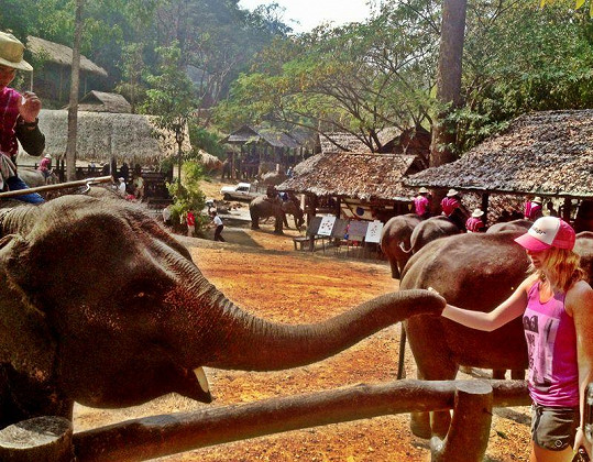 Nikol Moravcová si užívá třetí týden v Thajsku.