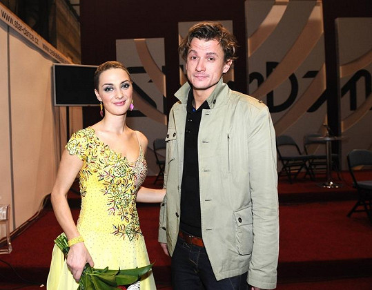 První společné foto Báry a Tomáše vzniklo na StarDance.