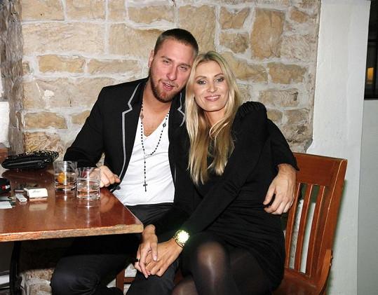 Kateřina Průšová s přítelem Davidem Martínkem spolu žijí více jak rok.