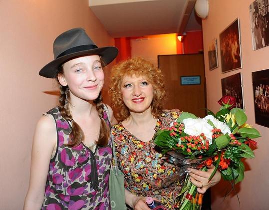 Rozálie Havelková s Jarkou Kretschmerovou.